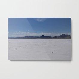 Salt Flats 2 Metal Print