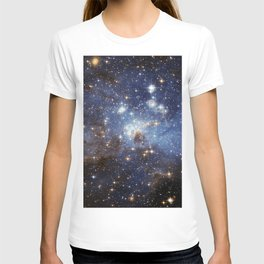 LH 95 stellar nursery in the Large Magellanic Cloud (NASA/ESA Hubble Space Telescope) T-shirt