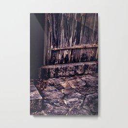 Wood and Stone Metal Print