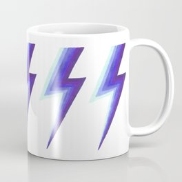 Lightning Bolts - Purple and Blue Coffee Mug