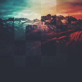 Framed Art Print - Fractions A80 - Seamless