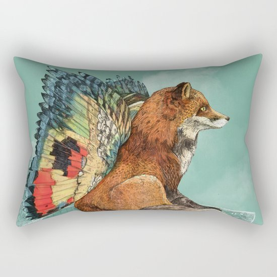 Flying Fox Rectangular Pillow