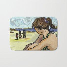 Dolly Dreaming (Saw Sea Series) Bath Mat