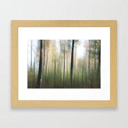 Movement in Nature II Framed Art Print