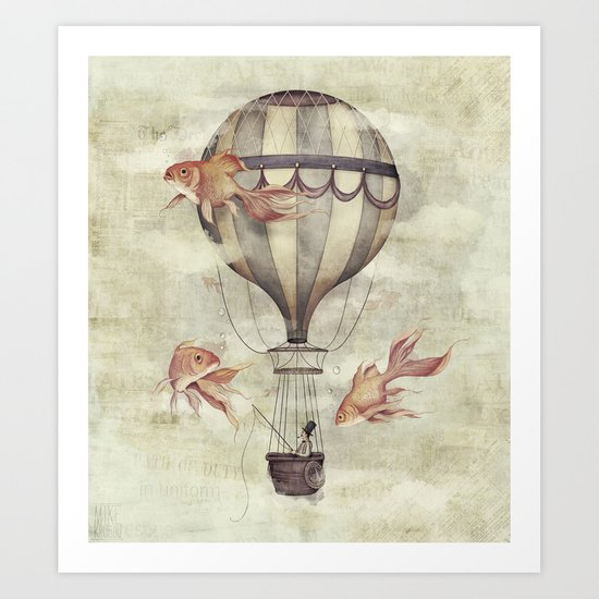 Skyfisher Art Print