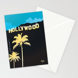 Hollywood,California Stationery Cards