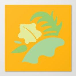 Tropical - Foliage Canvas Print