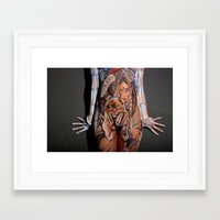 indiana Framed Art Prints featuring Indiana by Sempra Art