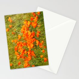 Golden Poppies 2017 Stationery Cards