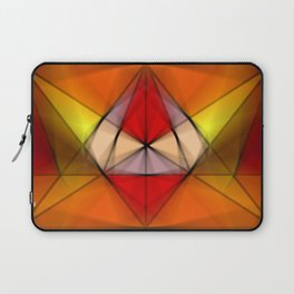 Stained  Triangulate  Laptop Sleeve