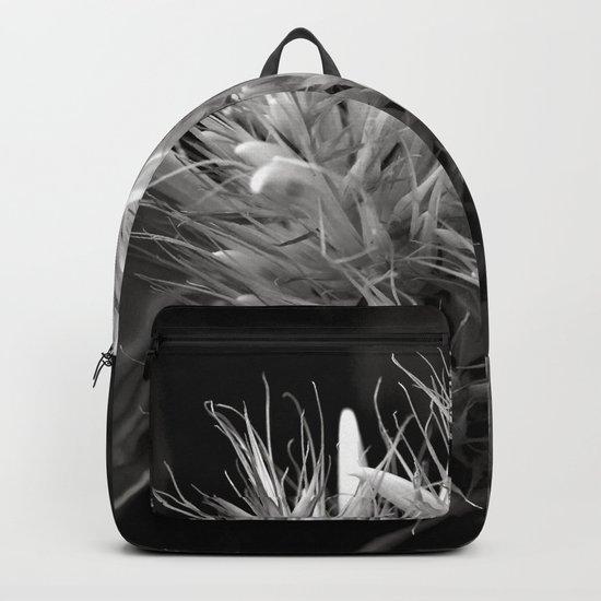 Bizzarre Flower Charm Backpack