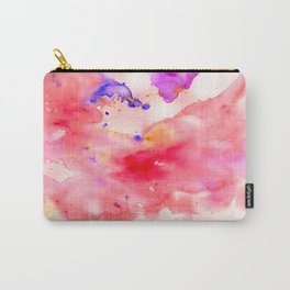 watercolor splash Carry-All Pouch