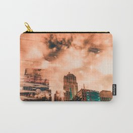 Seattle Pier 57 Dock Reflection Carry-All Pouch
