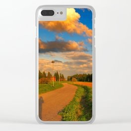 deserto Clear iPhone Case