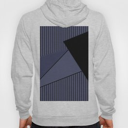 An abstract geometric pattern . Night Hoody