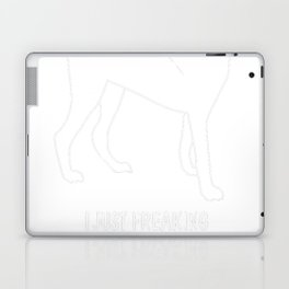 Aksaray-Malaklisi-dog-tshirt,-just-freaking-love-my-Aksaray-Malaklisi-dog Laptop & iPad Skin