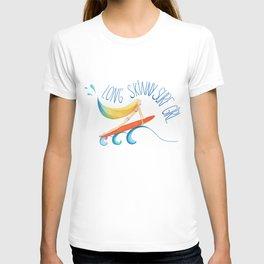 Long Skinny Surf Girl T-shirt