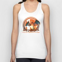 smash bros Tank Tops featuring Charizard - Super Smash Bros. by Donkey Inferno
