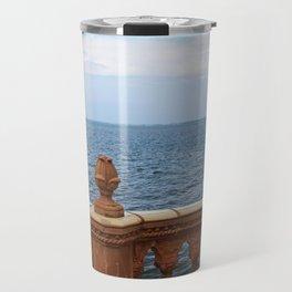 The Ringling Overlooking Sarasota Bay II Travel Mug