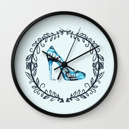 Cinderella' slipper Wall Clock
