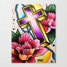 WATER·COLOR YAUU Canvas Print