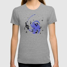 Musical Blue T-shirt