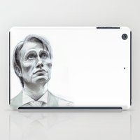 hannibal iPad Cases featuring Hannibal by Hash