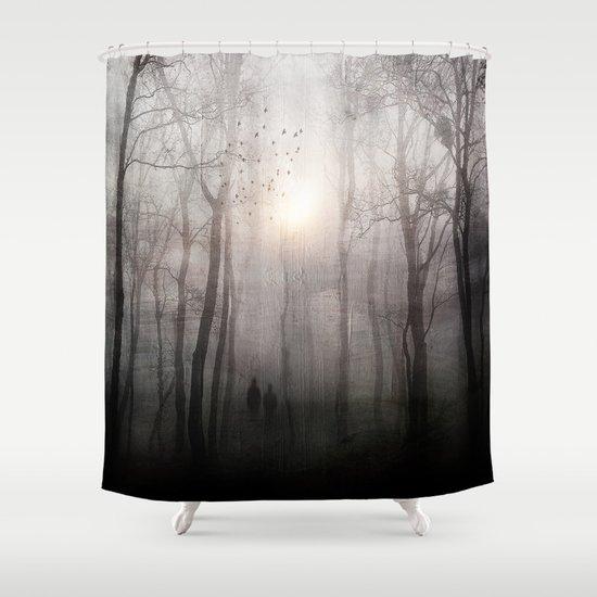 Eternal walk Shower Curtain