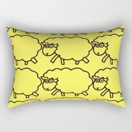 Black Sheep Rectangular Pillow