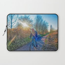 Countryside Cycling Laptop Sleeve
