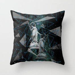 Celestial Mystery Throw Pillow