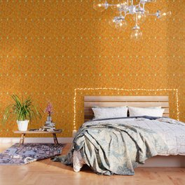 Joyful Christmas pattern Wallpaper