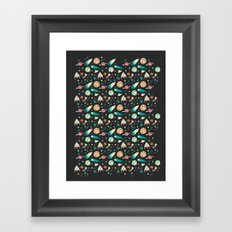 Science Fiction Wrapping Paper No. 1 Framed Art Print