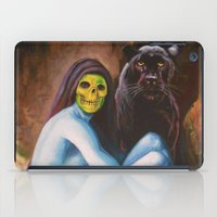 skeletor iPad Cases featuring Seated Sorcerer by Hillary White
