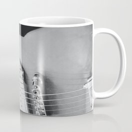 electric guitar music aesthetic hollow close up elegant mood art photography  Coffee Mug