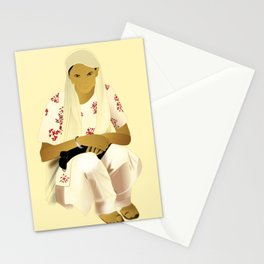 Strong Asian Mothers Stationery Cards