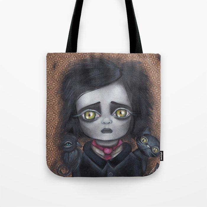 Young Poe Tote Bag