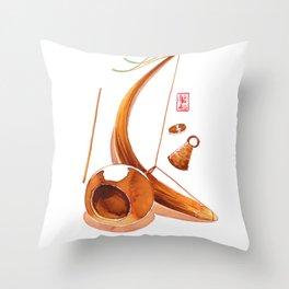 Capoeira 248 Throw Pillow