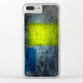 Abstract-Art-69 Clear iPhone Case
