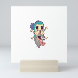New skul Mini Art Print