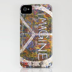 Imagine - Lennon Wall Slim Case iPhone (4, 4s)