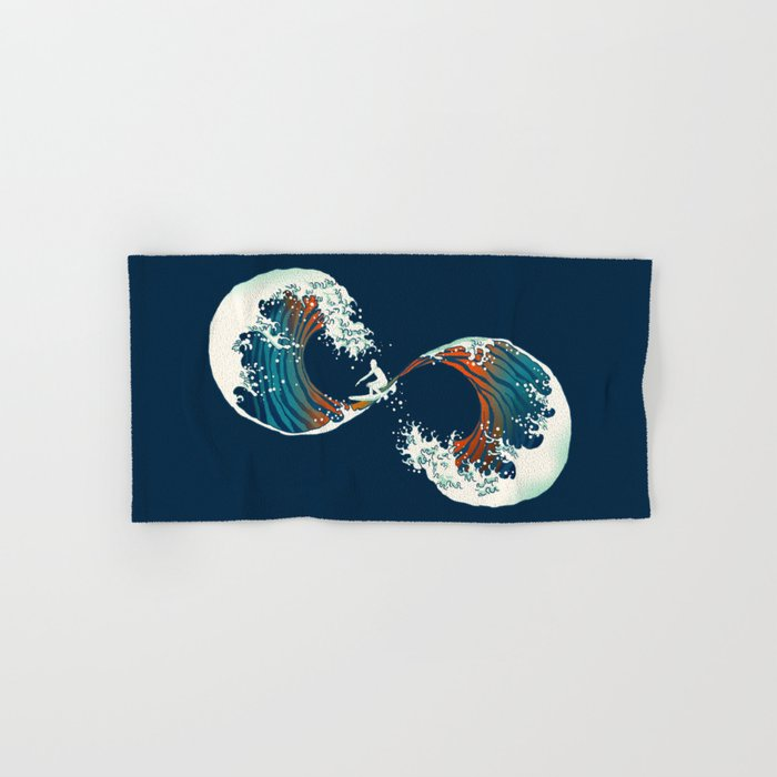 The Wave is forever Hand & Bath Towel
