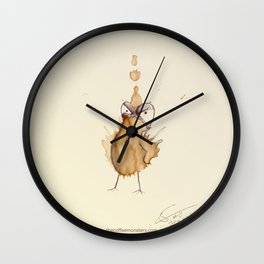 #coffeemonsters 19 Wall Clock