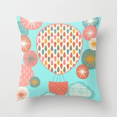 Floating On Throw Pillow