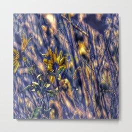 Flower Forest Metal Print