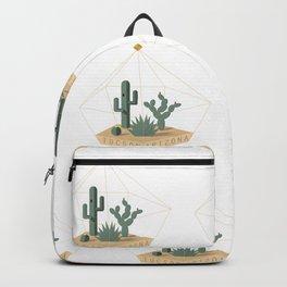 Tucson Arizona Cactus Terrarium Backpack