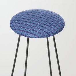 Ikat Purple Counter Stool