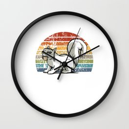 Vintage Squirrel - Squirrel Wall Clock