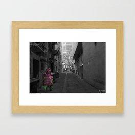 Unseen Monsters of Melbourne - Sally Chops Framed Art Print