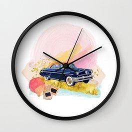 Kodachrome Wheels Wall Clock